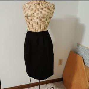 NWOT High Waisted Vintage Wool Skirt SAG HARBOR